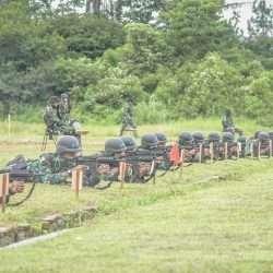 Detasemen Kawal Khusus Kemhan Lakukan Latih Tembak dengan SS2-V5 A1 & G2 Combat